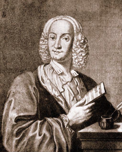 Engraving of Vivaldi, 1725.
