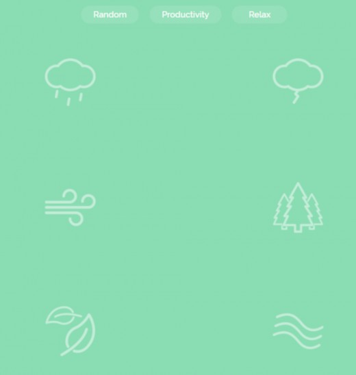 These are some of the noise generators on Noisli.