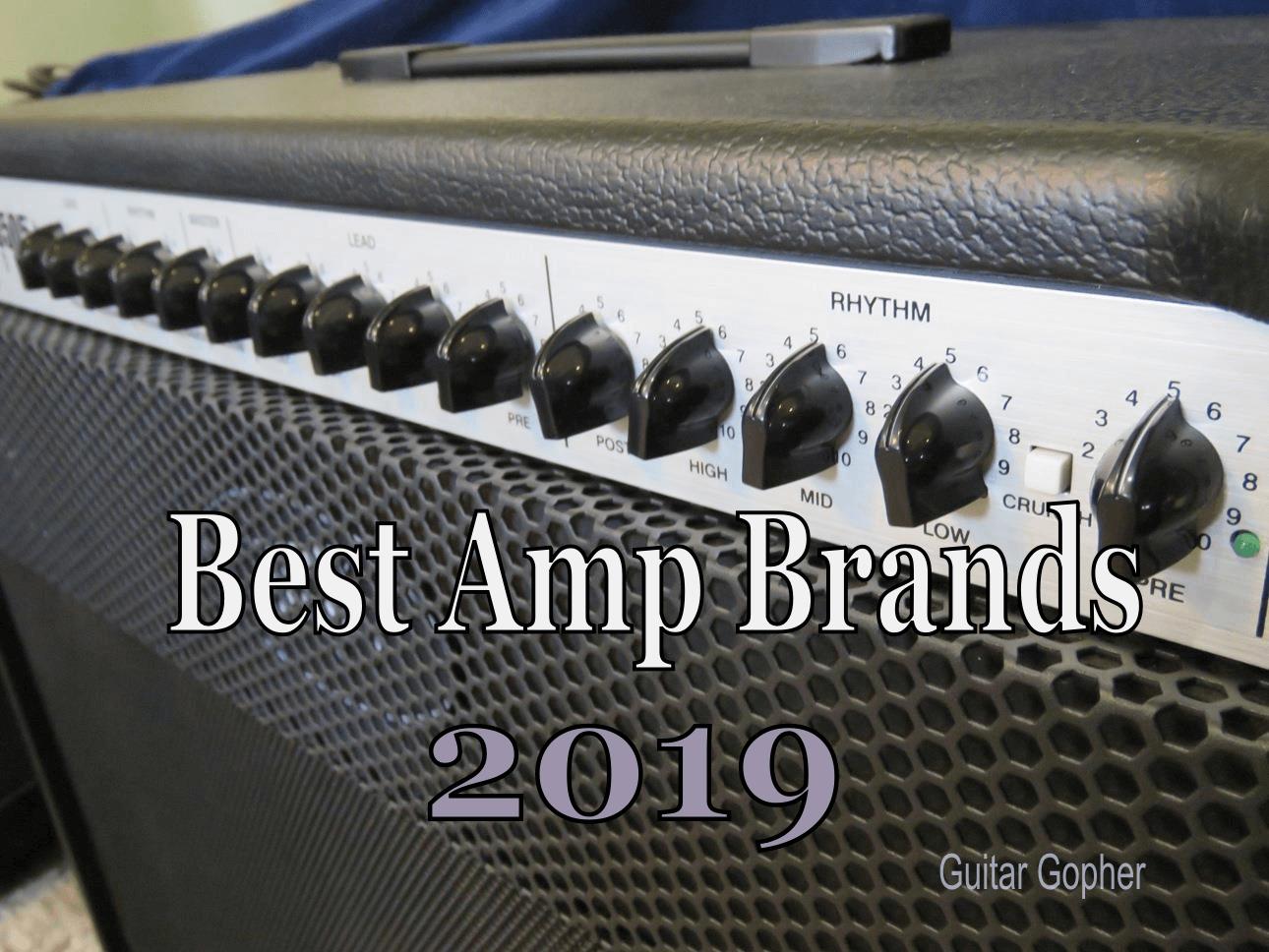 Best Guitar Amp Brands 2019 | Spinditty