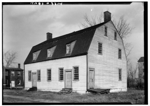 First Shaker Meetinghouse.