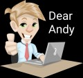 Pun Stories by Lori: Dear Andy Gives Healthy Advice