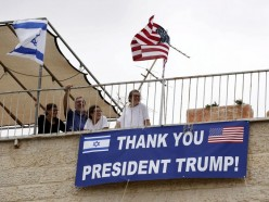 Moving the United States Embassy to Jerusalem.