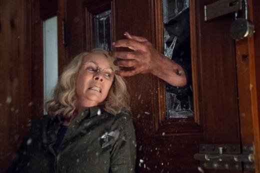 """Jamie Lee Curtis as Laurie Strode in, """"Halloween."""""""