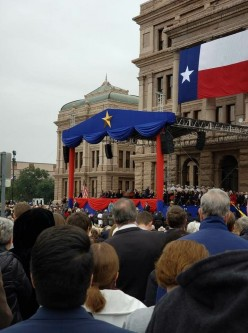 Governor Greg Abbott Uses Inauguration Speech to Attack Property Taxes