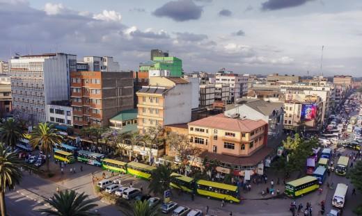 Nairobi bus terminal