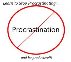 How to Avoid Procrastinatiion