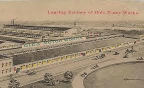 Olds Motor Works, Lansing, MI, one of Moon's largest industrial projects
