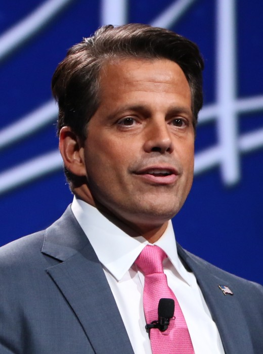 "Anthony Scaramucci, contestant on ""Celebrity Big Brother"""