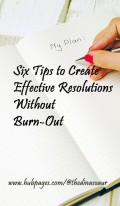 Six Tips to Create Resolutions That Stick Without Burn-out