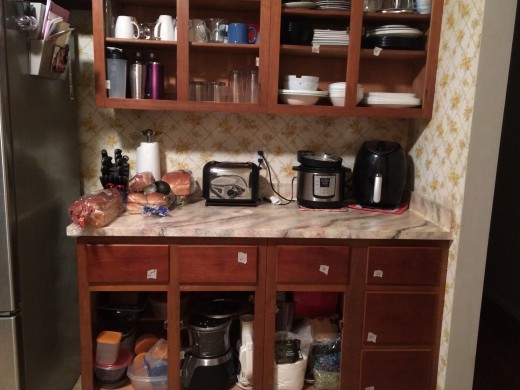 This is a great time to declutter and find dead things in your cabinets.