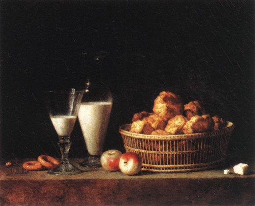 Still-Life with a Carafe of Barley Wine by Henri-Horace Roland De La Porte