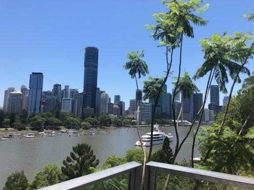 Summer in Brisbane, Australia