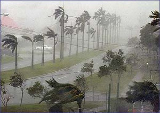 Hurricane Irene Bahama 2011