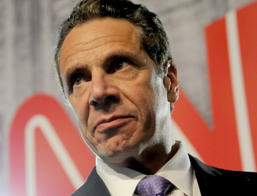 This is New York Governor Andrew Cuomo--the predator of the unborn who is leading the celebration of infanticide.