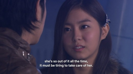 I really hated UEE before for her role here but I am okay with her now haha