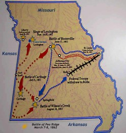 The Civil War's Largest Battle West of the Mississippi River: Pea Ridge Arkansas March 1862