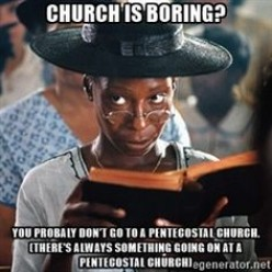 Is Going to Church Really Boring?