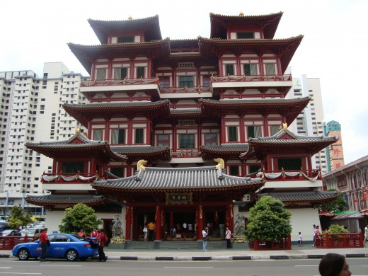 Budha Tooth Relic Temple, Chinatown, Singapore
