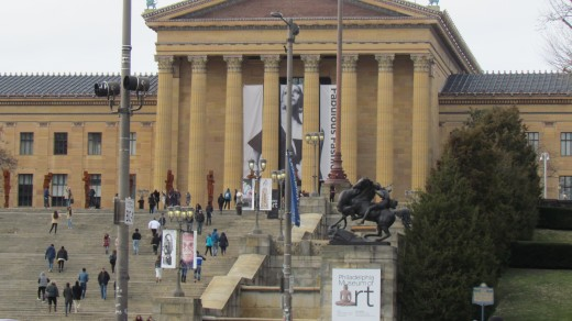Fabulous fashions can be seen at the  Philadelphia Museum of Art which is located at 2600 Benjamin Franklin Parkway, Philadelphia, Pennsylvania 19130. For more information call 215-763-8100.