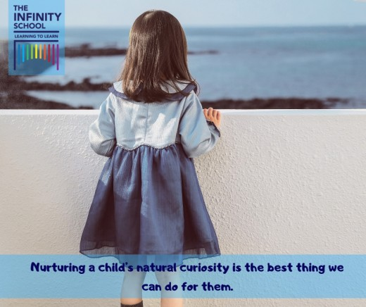 The Infinity School- Children are not only curious, but innocent, optimistic and willing to learn.