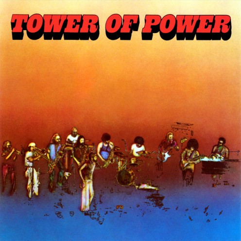 "Album cover for ""Tower of Power,"" perhaps their greatest album"