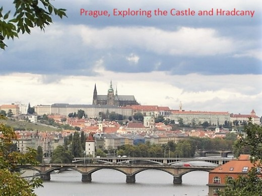 Prague Castle and Hradcany.