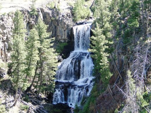 Undine Falls @ Yellowstone National Park