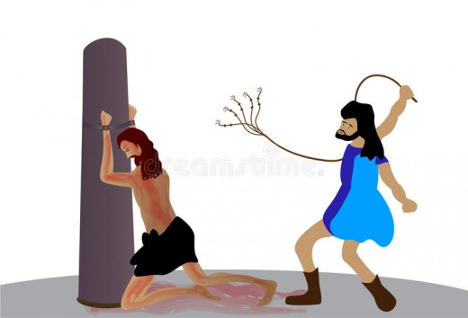 Scourging: When we are corrected we should know it is for our good