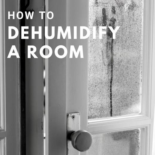 How to dehumidify a room naturally.