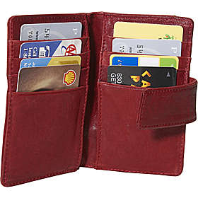 Bifold credit card wallets can fold thinly but still hold lots of cards.