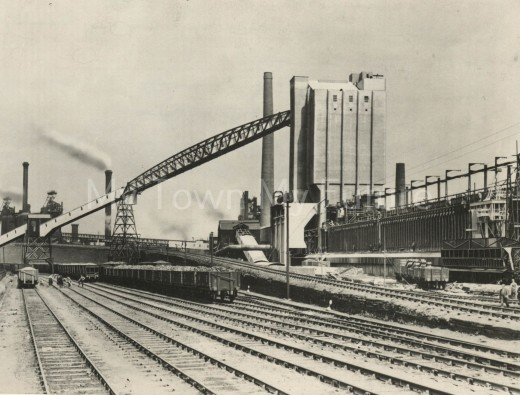 Dorman-Long steel works' Coking Plant  was established in 1936 when this picture was taken in July that yeat. Arthur Dorman used his share of the profits from the partnership to found the museum