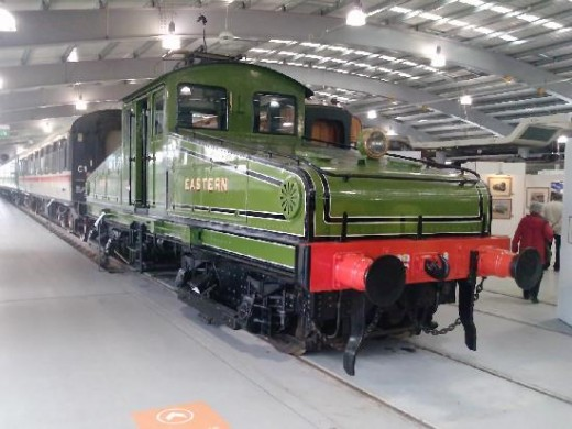Wilson Worsdell designed this type of electric locomotive early in the 20th Century for the freight service between the riverside and upper level on the Redheugh Incline, Newcastle-upon-Tyne