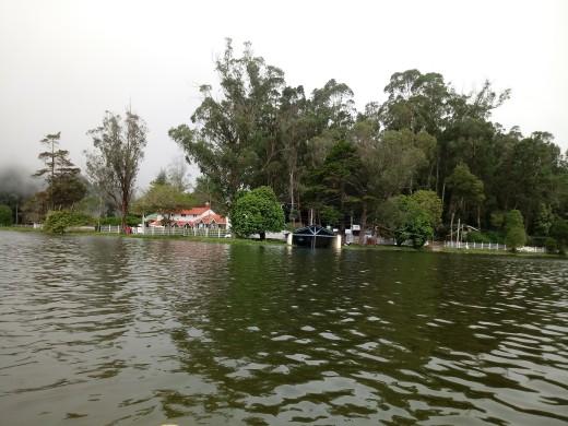 Kodai lake on a misty day