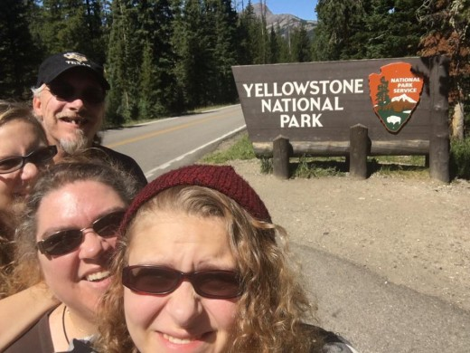 We made it to Yellowstone!