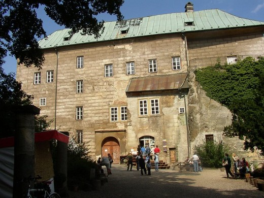 Houska Castle said to be located at the very gates to Hades, ( Hell ).
