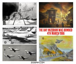 The Only Occasion When the Indian State Used Air Power Against Local Insurgents-Air Assault on Aizwal in Mizoram