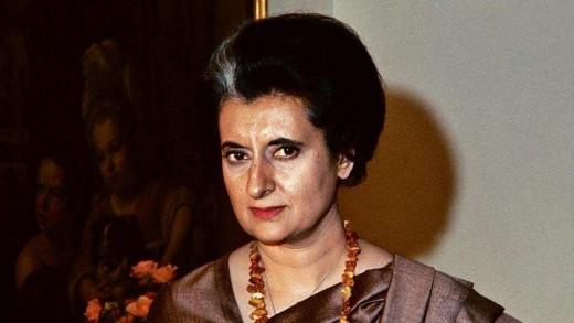 The woman of steel Indira Gandhi
