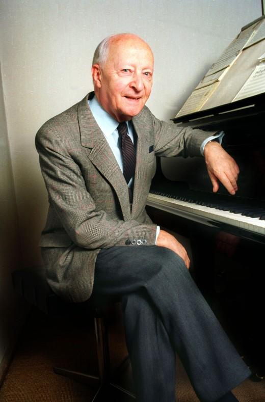 Lutoslawski at the piano at this home.