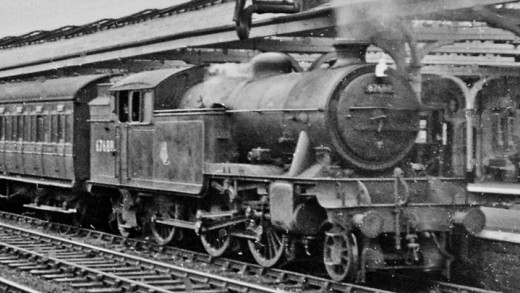 V3 2-6-2 T 67688 was a Gateshead (52A) allocation, seen here on a passenger working