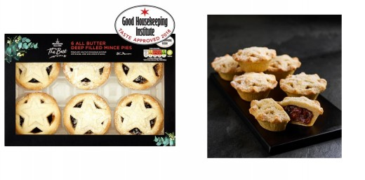 """""""Morrisons Deep Filled"""" Generally accepted best shop bought Mince Pies for Christmas 2018"""