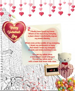 Valentine's Love Letter: To My Home