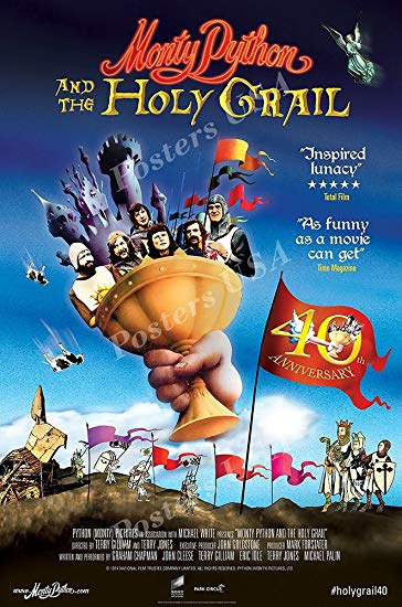 Movies like Hot Shots. What's your favorite from this list? #montypythonandtheholygrail