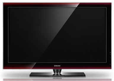 The Samsung Series 6 LCD T.V