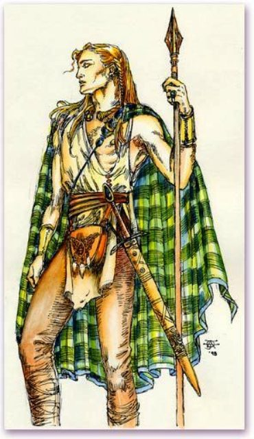 Ronan's son Mael Guothartaig, executed at the insistence of Eochaidh's daughter