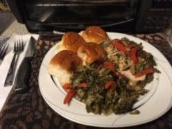 Easy & Healthy Pork Tenderloin and Greens