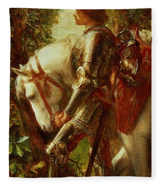 Sir Galahad, the young knight who goes on a never-ending quest to find the Holy Grail - a thankless task in the style of all tragic heroes (painting: George Frederic Watts)