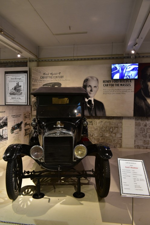 Ford-T on display at Gedee Car Museum