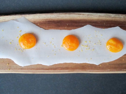 Cured Egg Yolks -- Final Product