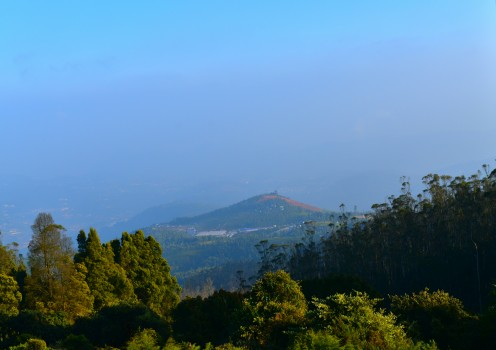 view from Kotagiri view point