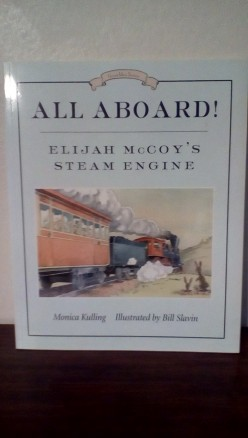 Trains and the Underground Railroad in a Charming Story and Picture Book for Black History Month